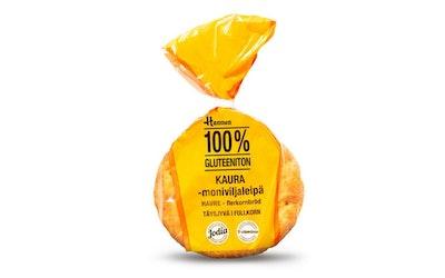 Hannun kauraleipä täysjyvä 170g gluteeniton