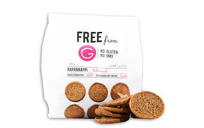Free from G hapannappi 150g valkosip glu