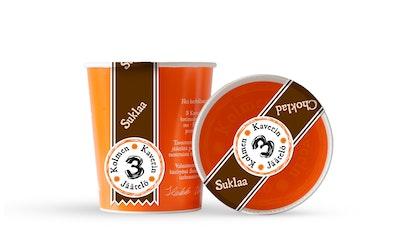 3 Kaverin Suklaajäätelö 500 ml