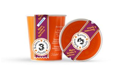 3 Kaverin Jäätelö 500ml Mustaherukka & Appelsiini laktoositon
