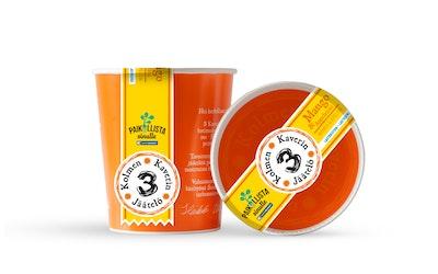3 Kaverin jäätelö 500 ml Mango & Appelsiini