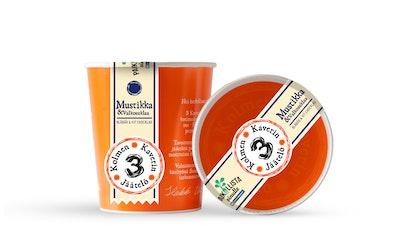 3 Kaverin jäätelö 500ml Mustikka & Valkosuklaa