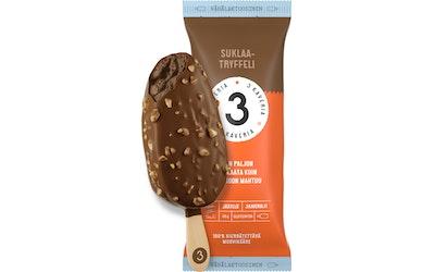 3 Kaverin jäätelöpuikko 80g suklaatryffeli