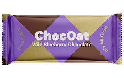 ChocOat 25g Wild Bluebe luomusuklaa
