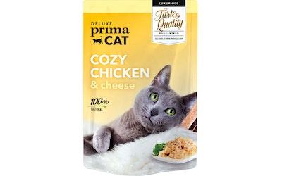 Deluxe PrimaCat cozy chicken 50g kanaa ja juustoa hyytelössä
