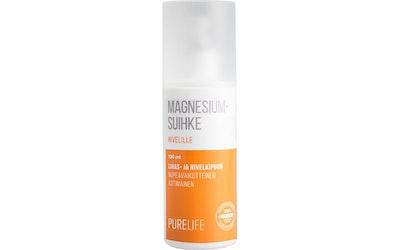 PureLife magnesiumsuihke 130ml lihas- ja nivelkipuun