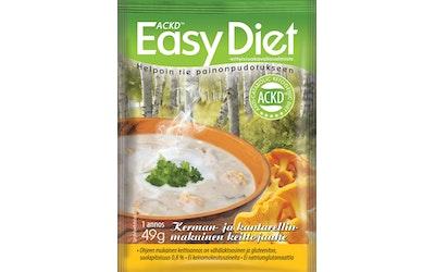 Leader ACKD Easy Diet 49g kerman- ja kanttarellinmakuinen keittojauhe