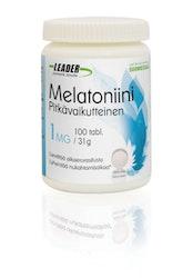 Leader Melatonin 1mg 100tabl/31g