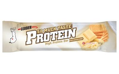 Leader protein so lo-carb proteiinipatukka 61g valkosuklaakeksi