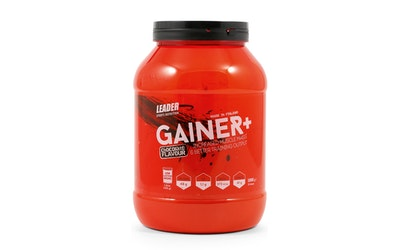 Leader Sports Nutrition Gainer Plus 1000g kaakaonmakuinen proteiinijauhe