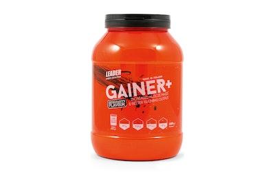 Leader Sport Nutrition Gainer+ 1000g mansikan makuinen proteiinijauhe