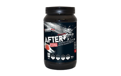 Leader Sport Nutrition After+ 700g mansikanmakuinen palautusjuomajauhe