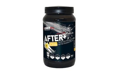 Leader Sport Nutrition After+ 700g vaniljanmakuinen palautusjuomajauhe