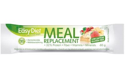Leader ACKD Easy Diet 60g Mansikan ja valkosuklaan makuinen ateriankorvikepatukka