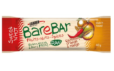 Leader Barebar cayenne appelsiini mango patukka 40g