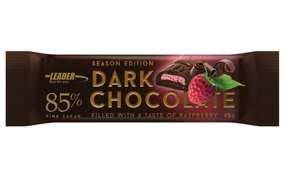 Dark Chocolate 85% 45g raspberry