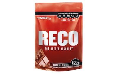 Leader reco proteiini-hiilihydraattijuomajauhe 800g kaakao