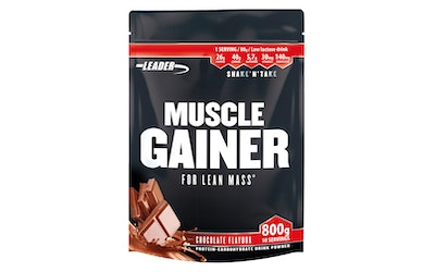 Leader Muscle Gainer suklaa 800g