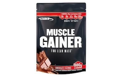 Leader Muscle Gainer suklaa 800g