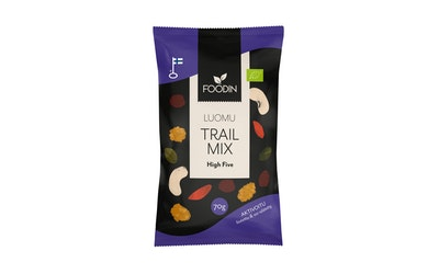 Foodin Trail Mix High Five 70g luomu