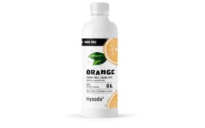 MySoda Appelsiini sokeriton 0,5l
