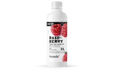 MySoda Vadelma sokeriton 0,5l