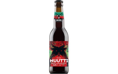 HIISI Nuutti Coffee and Habanero Stout 5,5% 0,33l