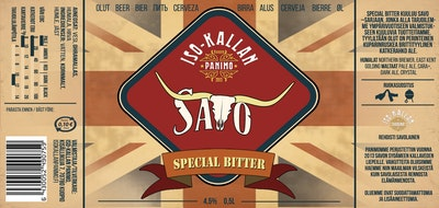 Iso-Kallan Panimo Savo Special Bitter 4,5% 0,5l