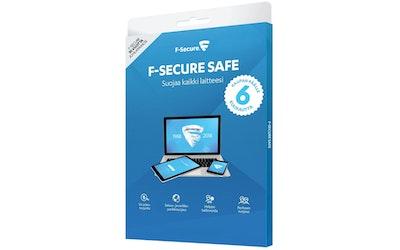 F-secure Safe 1 vuosi+6kk, 3 laitetta