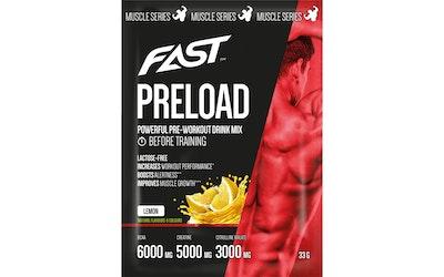 Fast muscle series preload lemon 12x33g
