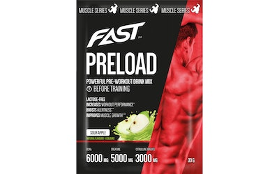 Fast muscle series preload sourapp12x33g