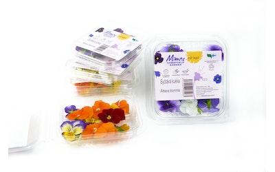 Syötäviä kukkia (sarviorvokki) 10kpl Suomi