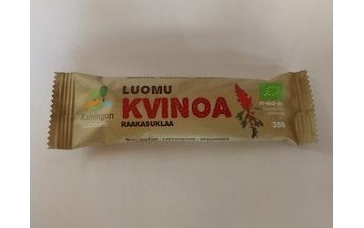 Luomu Kvinoa 35g raakasuklaa