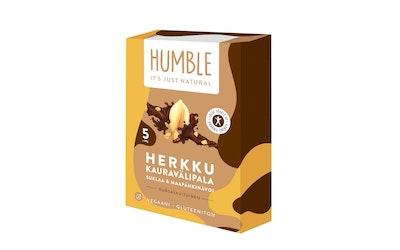 Humble Herkku kauravälipalapatukka 5x30g suklaa maapähkinävoi gluteeniton