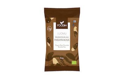 Foodin Raakasuklaa-parapähkinä 60g luomu