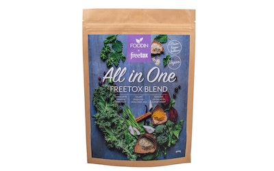 Foodin All in one 400g Freetox blend Juomajauhe