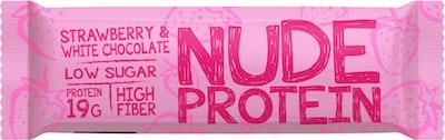 Nude Protein Bar 60g mansikka-valkosuklaa