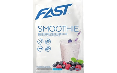 FAST Protein Smoothie Mix 30g Mustikka-vadelma