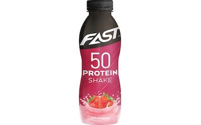Fast protein 500ml shake mansikka