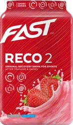 Fast Reco2 900 g mansikanmakuinen palautumisjuomajauhe