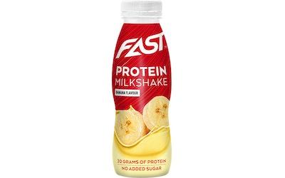 Fast protein milkshake 250ml banaani