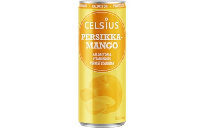 Celsius 355ml persikka-mango