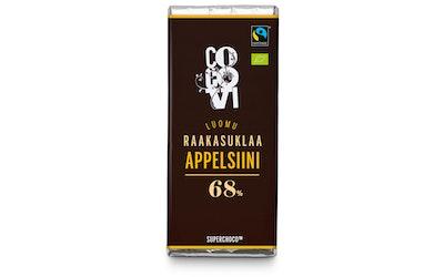 CocoVi Luomu Raakasuklaa 30g Appelsiini