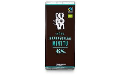 CocoVi luomu Raakasuklaa 30g Minttu