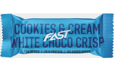 Fast Rox 55g cookies cream-white choc