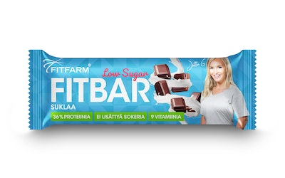 Fitfarm fitbar low-sugar 35 g suklaa