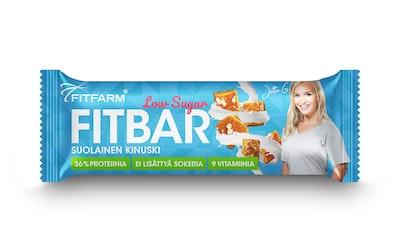 Fitfarm fitbar low-sugar 35g suolainen kinuski