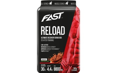 Fast reload muscle series 960g chocolate