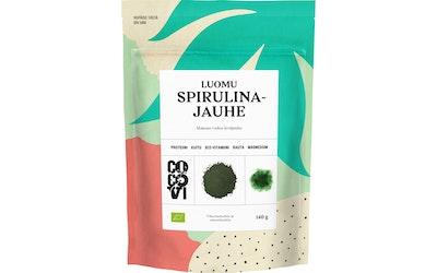 Cocovi spirulina 140g vihreä luomu