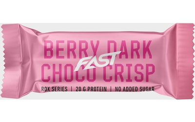 FAST ROX Protein bar 55g Berry Chocolate Crisp